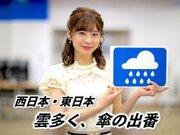 8月19日(月)朝のウェザーニュース・お天気キャスター解説