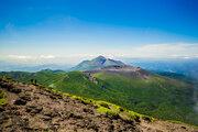 新燃岳で火山性地震が増加