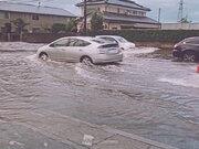 関東でゲリラ豪雨 激しい雨で気温も急降下