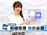 あす8月28日(火)のウェザーニュース・お天気キャスター解説