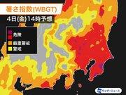 神奈川・千葉・群馬・茨城に熱中症警戒アラート 関東は暑さ対策が必須