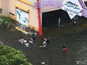 神戸市では甚大な浸水被害 台風21号の記録的高潮で