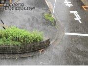 名古屋は連日の激しい雨 道路冠水などに警戒