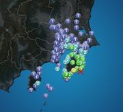 千葉県で震度4 津波の心配なし