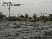 地震があった東北で局地的な強雨 関東からは活発な雨雲離れる
