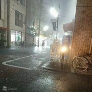 東京・埼玉で雨雲が急発達 1時間50mm超の非常に激しい雨