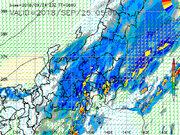 午後は関東各地で本降りの雨 雷を伴い強く降る所も