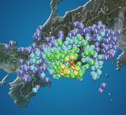 静岡県・愛知県・長野県で震度4の地震発生 津波の心配なし