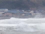 台風24号 特設ライブカメラ(和歌山県北部 みなべ町)