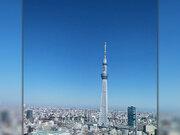 秋の乾いた空気で視界良好 今日2日(月)は東京都内から富士山も