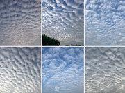 千葉や東京など関東南部の空を賑わす「うろこ雲・ひつじ雲」