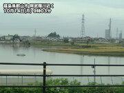 台風19号の被災地で冷たい雨 被害の拡大に注意