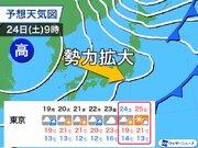 東京は10月に入り秋晴れ1日だけ 次のチャンスはいつ?
