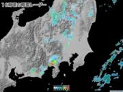 東京都心など夕方以降は雷雨注意