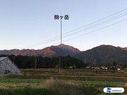 甲斐駒ヶ岳が初冠雪 平年より6日早い観測