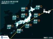 国際宇宙ステーション/きぼう 明朝、広範囲で観測チャンス