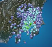 東京・神奈川で震度3 千葉県北西部でM4.3の地震 津波の心配なし