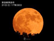 今夜は10月2度目の満月「ブルームーン」 ハロウィンの満月は日本では46年ぶり