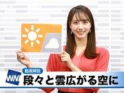あす11月1日(日)のウェザーニュース お天気キャスター解説