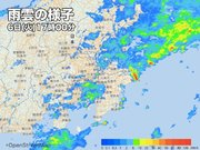 関東の広い範囲でまとまった雨 東京は約1か月ぶりの雨量に