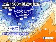 来週は真冬並みの寒気南下か 北日本で大雪のおそれも