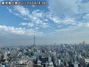今夜は東京都心で強雨や雷に注意