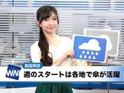 11月12日(月)朝のウェザーニュース・お天気キャスター解説