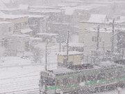北海道 明日16日(土)まで猛吹雪に警戒 ホワイトアウトのおそれも