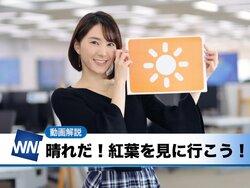 画像:あす11月18日(日)のウェザーニュース・お天気キャスター解説