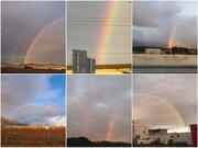 連休最終日は朝虹が出現 東海や群馬でダブルレインボーも