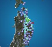 岩手県・青森県で震度3の地震発生
