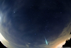 画像:ふたご座流星群が極大に 一番の見ごろは14日0時前後の数時間、12日と14日の夜も観察可能