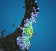 福島県で震度4 M5.1 津波の心配なし