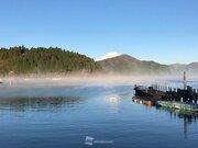 今朝、箱根・芦ノ湖で気嵐(けあらし)出現