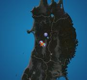 秋田県で震度3の地震発生