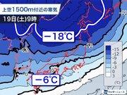 寒波の峠越え明日は小康状態 週末は再び寒気南下で大雪に