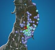 岩手県・宮城県で震度3の地震発生