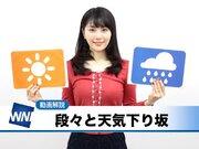 12月23日(日)朝のウェザーニュース・お天気キャスター解説