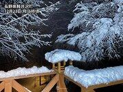 河口湖や軽井沢で積雪20cm超 関東甲信は雪の峠を越える