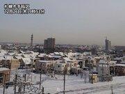 札幌は久々のまとまった雪 12月の降雪は記録的少なさ