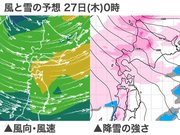 北海道 今夜は吹雪による視界不良に注意