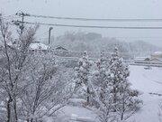 年末寒波襲来 東北中心に積雪急増