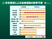 【年末大雪】飛行機や新幹線、道路の影響予測(28日10時更新)