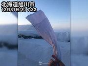 北海道は5地点で30を下回る…今季最多で極寒の朝に