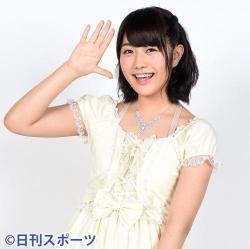 画像:横島亜衿(写真は2016年4月15日)