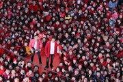 ゆず、原点であるイセザキ・モールで新曲「うたエール」MV撮影敢行!