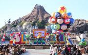 【ディズニー】真冬のパークにピクサーの仲間が大集合!史上初「ピクサー・プレイタイム」開幕