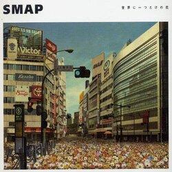 画像:SMAPファン団結 「世界に一つだけの花」購買運動で「SMAPは終わらせない」/画像は『世界に一つだけの花』ジャケット