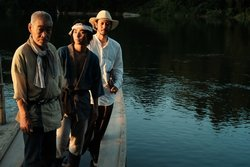 画像:オダギリジョー長編初監督がクランクアップ!公開は9月『ある船頭の話』