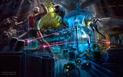 画像:【香港ディズニー】マーベル極東拠点の香港に第3のライド登場!アントマンとワスプが舞うアートも初公開